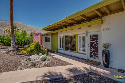 Palm Springs Single Family Home For Sale: 1126 N Riverside Drive