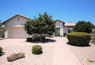 Palm Desert Single Family Home For Sale: 74604 Waterlily Circle