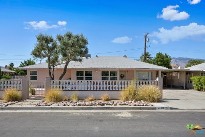Palm Springs Single Family Home Contingent: 4183 E Calle San Antonio