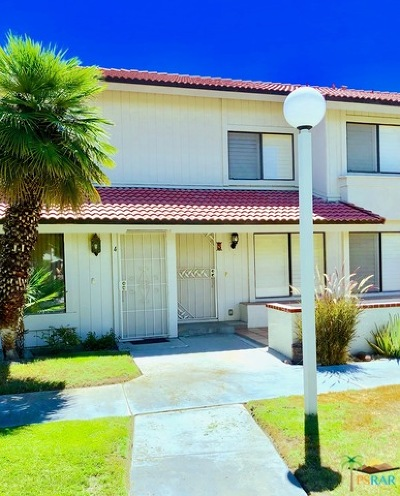 Palm Springs Condo/Townhouse For Sale: 6147 Arroyo Road #4