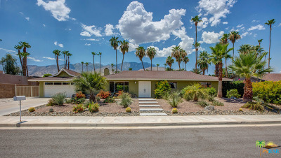 Palm Springs Single Family Home For Sale: 1377 S San Joaquin Drive