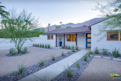 Palm Springs Single Family Home For Sale: 563 S Camino Real