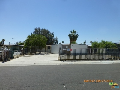 Cathedral City Single Family Home For Sale: 31050 Santa Barbara Drive