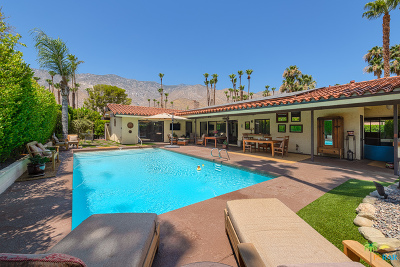 Palm Springs Single Family Home For Sale: 2739 Bonita Circle