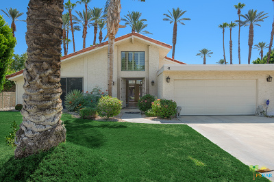 Rancho Mirage Single Family Home For Sale: 41 Lincoln Place