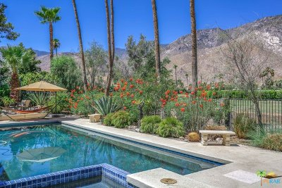 Palm Springs Single Family Home For Sale: 2719 Bonita Circle