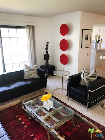 Palm Springs Condo/Townhouse For Sale: 505 S Farrell Drive #N79