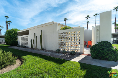 Palm Springs Condo/Townhouse For Sale: 1811 Sandcliff Road