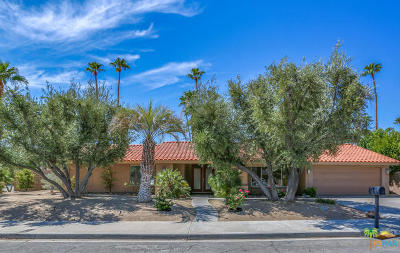 Palm Springs Single Family Home For Sale: 2497 E Santa Ynez Way