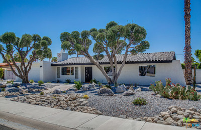 Palm Springs Single Family Home For Sale: 2841 E Vincentia Road