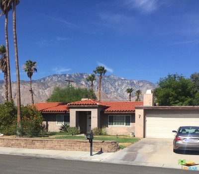 Palm Springs Single Family Home For Sale: 3023 N Bahada Road