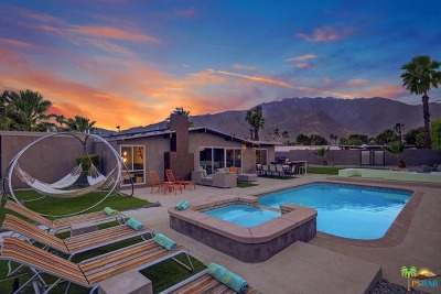 Palm Springs Single Family Home For Sale: 980 E Garden Road