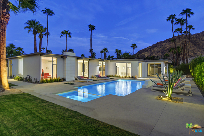 Palm Springs Single Family Home For Sale: 953 N Rose Avenue
