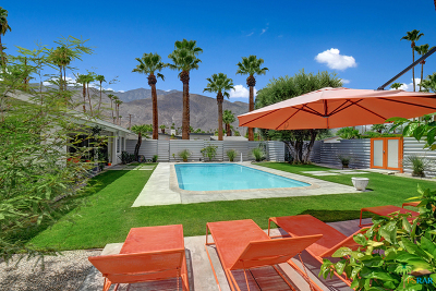 Palm Springs Single Family Home For Sale: 1379 E San Lorenzo Road
