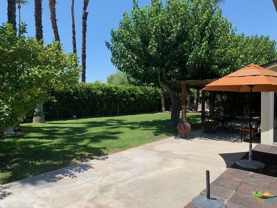 Palm Springs Single Family Home For Sale: 1957 S Birdie Way