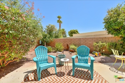 Palm Springs Condo/Townhouse For Sale: 2900 Sunflower Circle #W