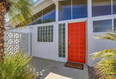 Palm Springs Single Family Home For Sale: 965 E Twin Palms Drive