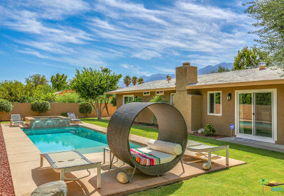Palm Springs Single Family Home For Sale: 2088 N San Clemente Road