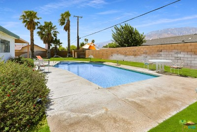 Palm Springs Single Family Home For Sale: 2881 N Cypress Road