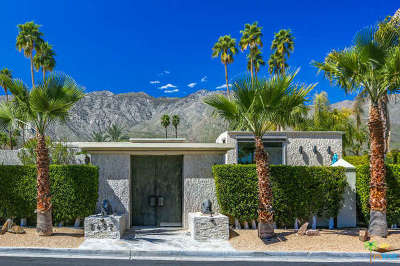 Palm Springs Single Family Home For Sale: 2497 S Caliente Drive