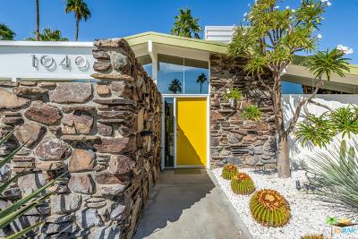 Palm Springs Single Family Home Contingent: 1040 E La Verne Way