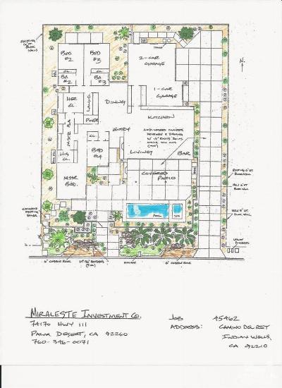 Indian Wells Residential Lots & Land For Sale: 45462 Camino Del Rey