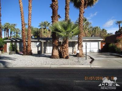 Rancho Mirage Single Family Home Contingent: 70060 Sun Valley Drive