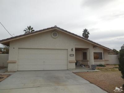 Palm Desert Country Single Family Home Contingent: 43590 Warner Trail
