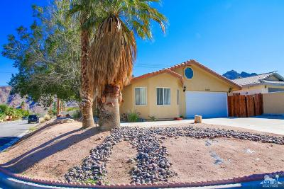 Bermuda Dunes, Indian Wells, Indio, La Quinta, Palm Desert, Rancho Mirage Single Family Home Contingent: 53750 Avenida Obregon