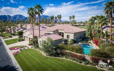 La Quinta Single Family Home For Sale: 81060 Golf View Drive
