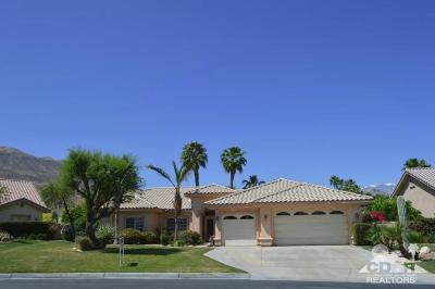 Rancho Mirage Single Family Home Contingent: 58 White Sun Way