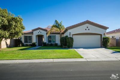 La Quinta Single Family Home Contingent: 79811 Castille Drive