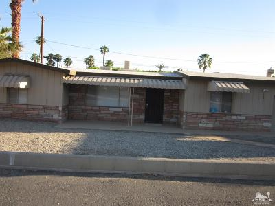 Cathedral City Single Family Home For Sale: 68734 H Street