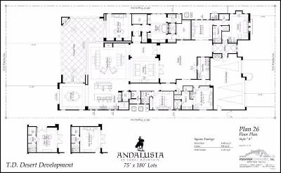 Andalusia at CM Single Family Home For Sale: 81537 Ronda #P-101