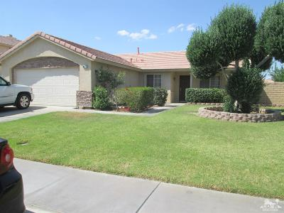 Bermuda Dunes, Indian Wells, Indio, La Quinta, Palm Desert, Rancho Mirage Single Family Home Contingent: 80712 Willow Ln Lane