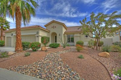 Bermuda Dunes, Indian Wells, Indio, La Quinta, Palm Desert, Rancho Mirage Single Family Home Contingent: 80656 Camino San Lucas