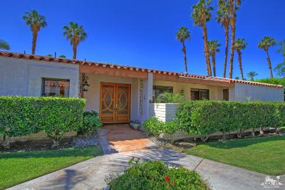 Indian Wells C.C. Single Family Home For Sale: 45605 Pawnee Road