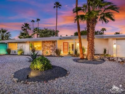 Palm Springs Single Family Home For Sale: 222 North Jill Circle