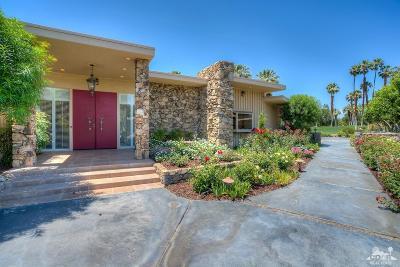 Thunderbird Estates Single Family Home For Sale: 40215 Club View Drive