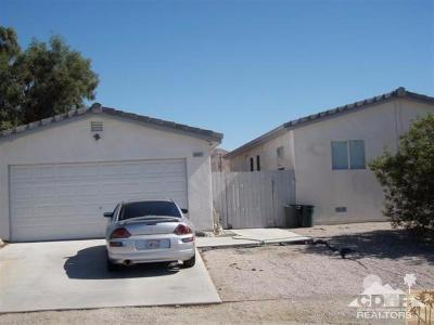 Single Family Home Sold: 65072 Desert View Avenue