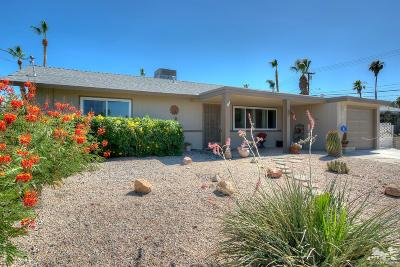 Palm Desert Country Single Family Home Contingent: 77225 Indiana Avenue