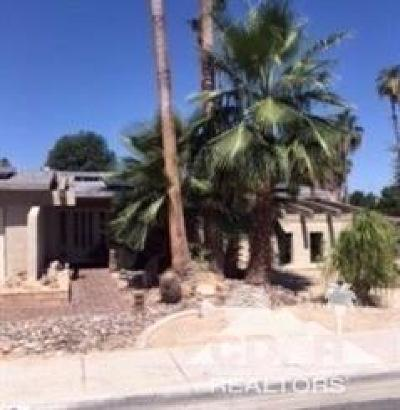Palm Desert Single Family Home Contingent: 43205 Silk Tree Lane