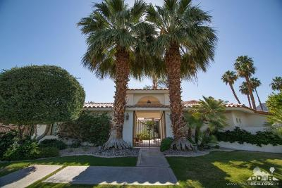 Indian Wells Single Family Home Contingent: 45400 Chocta Circle