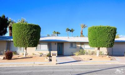 Palm Springs Single Family Home Contingent: 3670 East Vivian Circle