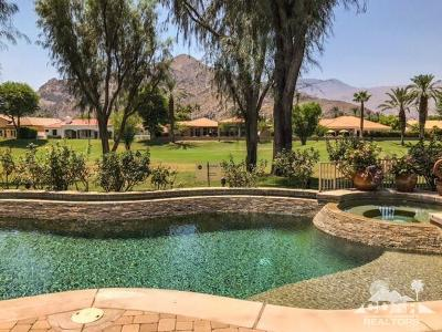 La Quinta Single Family Home Sold: 78835 Pina