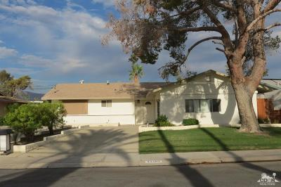Palm Desert Country Single Family Home Contingent: 43385 Illinois Avenue