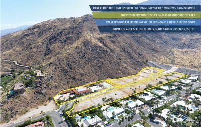 Palm Springs Residential Lots & Land For Sale: 555 North Via Monte Vis Vista