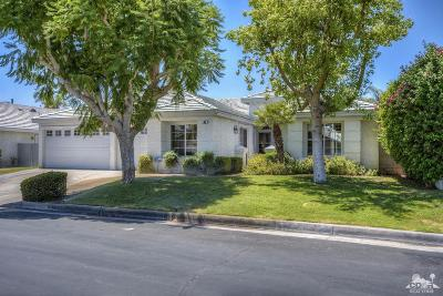 Palm Desert Single Family Home Contingent: 63 Sutton Place East