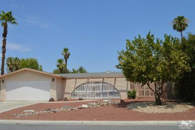 Palm Desert Country Single Family Home Contingent: 43180 Virginia Avenue