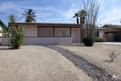 Palm Desert CA Single Family Home For Sale: $233,000